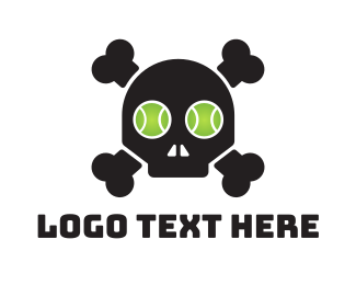 Pirate - Tennis Pirate  logo design