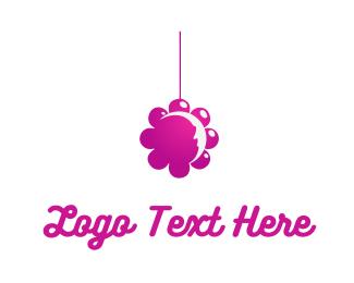 Mobile - Flower Mobile logo design