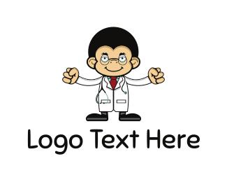 Doctor - Monkey Doctor logo design