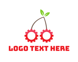 Cogwheel - Cherry Gear logo design