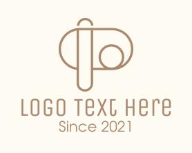Company - Interior Design Letter P logo design