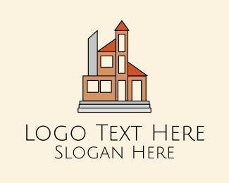 Big - Big House Property  logo design