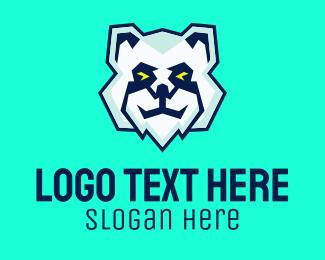 Mountain Lion - Polar Bear Gaming logo design