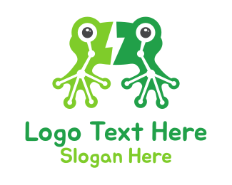 Electrical Energy - Green Frog Electrical Energy logo design