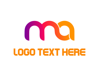 App - Colorful Letters  logo design