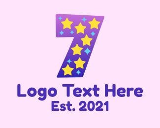 Kids Apparel - Starry Seven logo design