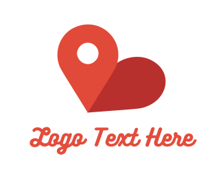 Point - Love Point logo design