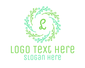Ornamental - Stroke Ornamental Lettermark logo design