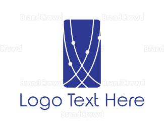 Connection - Blue Connection logo design