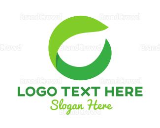 Dietitian - Herbal Letter C logo design