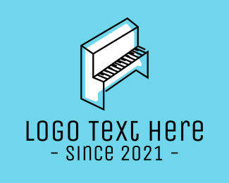 Minimal - Minimal Piano logo design