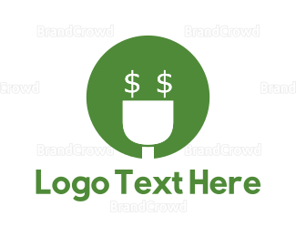 Plug - Money Plug logo design