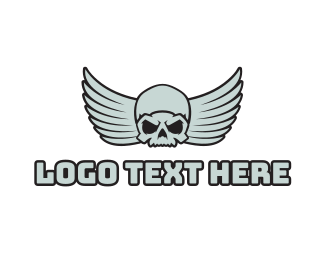 Esports - Esports Gaming Skull Angel logo design