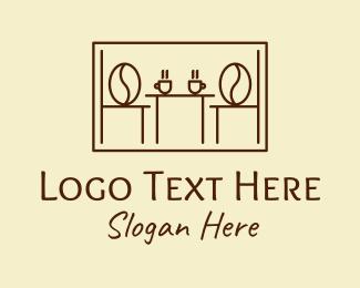 Frame - Coffee Cafeteria Frame logo design