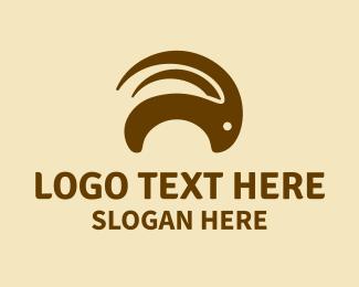 Horns - Brown Goat Horns logo design