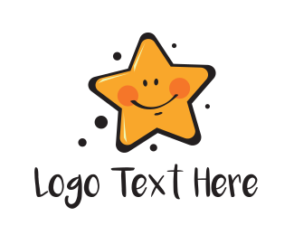 Exciting - Smiling Star logo design