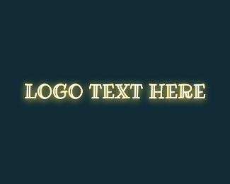 Luminous - Luminous Text Wordmark logo design