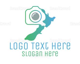 Electronics Boutique - New Zealand Photography logo design