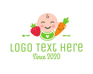 Carrot - Baby Food logo design