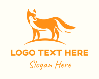 Outdoors - Orange Fox logo design