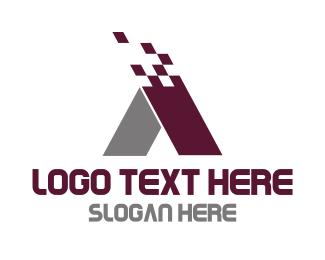 Management - Modern Letter A logo design