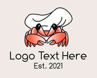 Crab - Crab Chef logo design