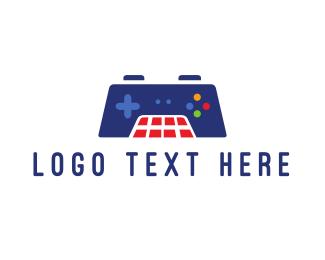 Grid - Grid Controller Gaming logo design