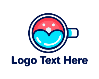 Cup - Happy Cup logo design