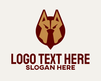 Veterinary - Dog Tie Veterinary logo design