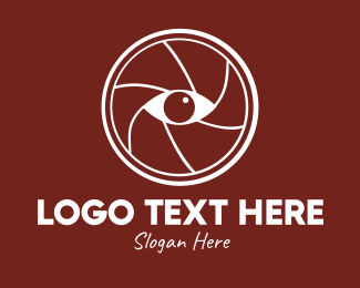 Camera Repair - Camera Shutter Eye logo design