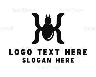 Cryptic - Spider Parentheses logo design
