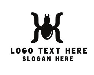 Symbols - Spider Parentheses logo design