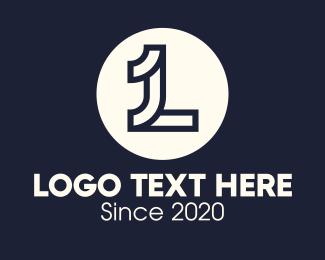 Letter L - Elegant Letter L logo design