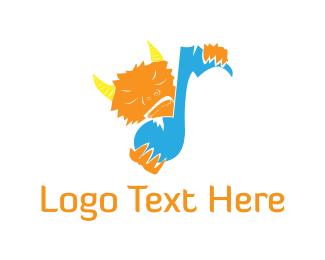 Audio - Music Monster logo design