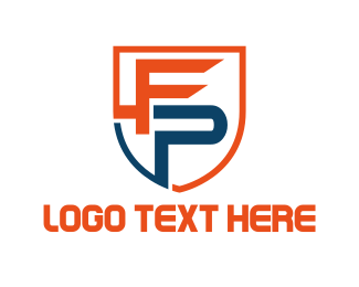 Patrol - F & P logo design