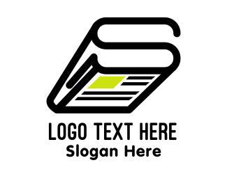 Newspaper - Newspaper S logo design