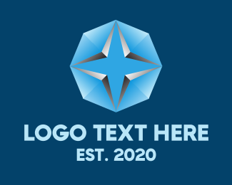 Technology - Blue Star Business Tech logo design