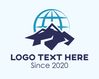 Mountain Climbing - Global Mountain Climbing Group logo design