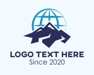 Group - Global Mountain Climbing Group logo design