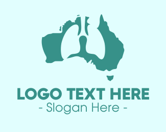 Cancer - Australian Lungs Health logo design