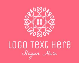 Home Gardening - Flower Shop Florist logo design