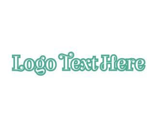 Classic - Classic Curly Green logo design