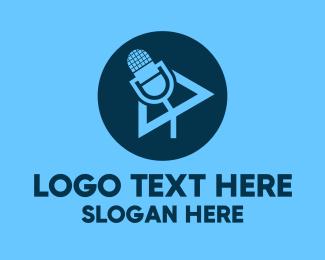Stream - Podcast Streaming Application logo design