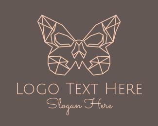 Womenswear - Geometric Butterfly logo design