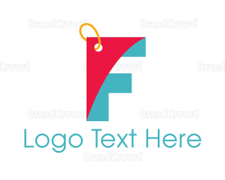 Duty Free - Letter F Coupon logo design