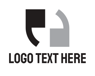 Newspaper - Double Apostrophe  logo design