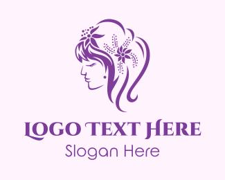 Accessories - Female Hair Fashion logo design