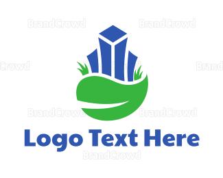 Business Center - Nature Urban City logo design
