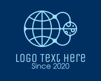 Science - Global Astronomical Science logo design