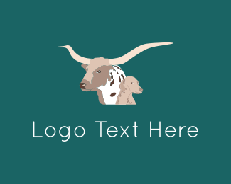 Cattle - Bull & Dog logo design
